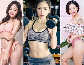 """Đây là 3 """"nữ hoàng phòng gym"""" Trung - Việt - Hàn"""
