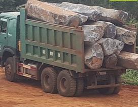 """Đá quý """"núp bóng"""" đá xây dựng đi trái phép từ mỏ đến nhà máy tại Đắk Nông!"""