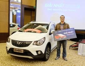 """VinFast tổ chức trao tặng xe cho người thắng cuộc """"Chọn xế yêu cùng VinFast - 3"""""""