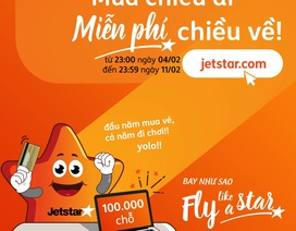 Jetstar Pacific mở bán hàng trăm nghìn vé 0 đồng đón giao thừa 2019
