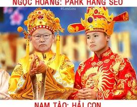 """Khi các tuyển thủ Việt Nam """"đóng"""" Táo quân, không ngờ lại hợp vai tới vậy"""