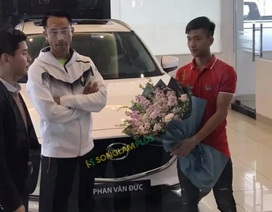 Cầu thủ ĐT Việt Nam tới tấp xây nhà, tậu xe đón Tết