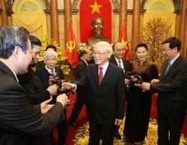 Tổng Bí thư, Chủ tịch nước Nguyễn Phú Trọng chúc Tết lãnh đạo Đảng, Nhà nước