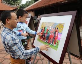Lần đầu tiên có triển lãm về dấu ấn lịch sử của bóng đá Việt Nam