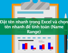 Tin học excel: Chức năng đặt tên giúp bạn tối ưu công việc như thế nào?