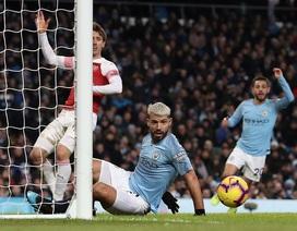 Tiết lộ bất ngờ của Aguero sau khi lập hat-trick vào lưới Arsenal
