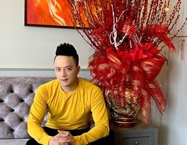 Cao Thái Sơn tự tay trang trí hoa cho biệt thự triệu đô để đón Tết