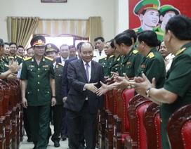 Thủ tướng Nguyễn Xuân Phúc chúc Tết lực lượng vũ trang và nhân dân Đà Nẵng