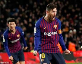 Barcelona đón tin cực vui từ Messi ở đại chiến gặp Real Madrid