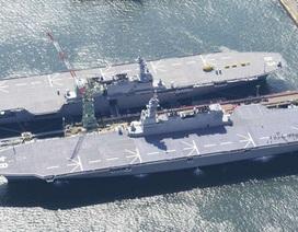Nhật Bản đặt dấu chấm hết cho 7 thập kỷ không có tàu sân bay