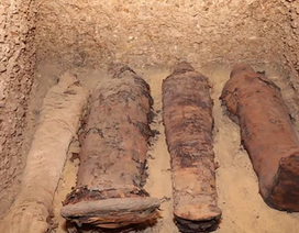 Phát lộ mê cung lăng mộ ở Ai Cập với nhiều xác ướp có niên đại 2.300 năm