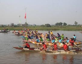 Sôi nổi Lễ hội đua thuyền đầu Xuân