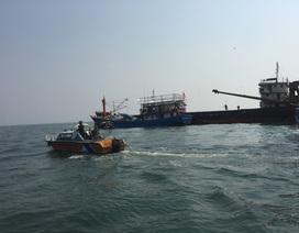 Cứu hộ kịp thời tàu hàng gặp nạn trên biển dịp Tết