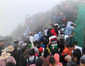 Gần 100.000 lượt khách tham quan Yên Tử trong những ngày đầu năm mới
