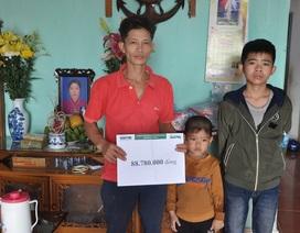 Bạn đọc giúp đỡ 3 chị em mồ côi mẹ hơn 88 triệu đồng