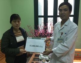 Hơn 52 triệu đồng tiếp tục đến với cậu bé Đức ghép phổi