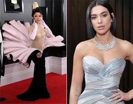 Người đẹp lộng lẫy váy áo trên thảm đỏ Grammy 2019