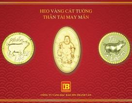 Bảo Tín Thanh Vân tung bộ sưu tập vàng 24k phát tài, may mắn trong ngày thần tài