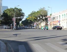 Đường phố Sài Gòn thênh thang đến lạ trong ngày làm việc đầu năm