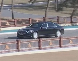 Hé lộ xe bọc thép mới của ông Kim Jong-un