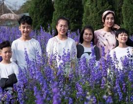 Cựu người mẫu Sao Xa khoe gia đình viên mãn trong ngày đầu năm