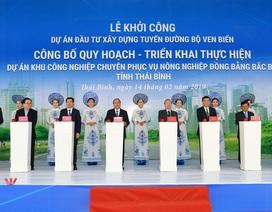 Thủ tướng dự Lễ khởi công dự án tuyến đường bộ ven biển