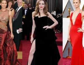 Những bộ váy cuốn hút nhất trên thảm đỏ Oscar