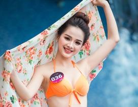 Thí sinh Người đẹp Kinh Bắc trình diễn bốc lửa với bikini