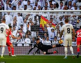 Thua đau đớn Girona, Real Madrid kém Barcelona đến 9 điểm