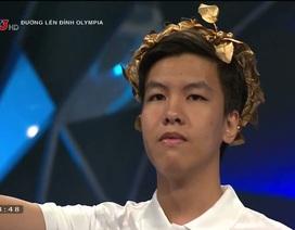 Nam sinh Bình Thuận chiến thắng thuyết phục cả 3 đối thủ tại cuộc thi Tuần Olympia