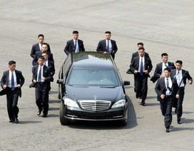 """""""Lá chắn thép"""" kiên cố bảo vệ ông Kim Jong-un trong các chuyến công du"""