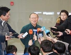 HLV Park Hang Seo trở lại Việt Nam tuyển quân cho vòng loại U23 châu Á