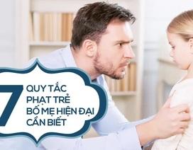 7 quy tắc phạt trẻ của bố mẹ hiện đại