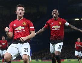 """Chelsea 0-2 Man Utd: Herrera, Pogba đưa """"Quỷ đỏ"""" vào tứ kết"""