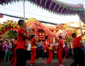 Rộn ràng Tết Nguyên tiêu của người Hoa ở Sài Gòn