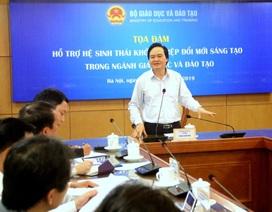 """Bộ trưởng Phùng Xuân Nhạ: """"Tuyệt đối không để khởi nghiệp chạy theo phong trào"""""""