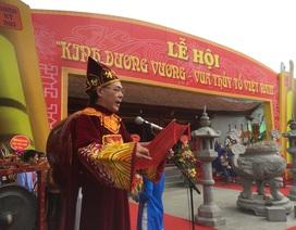 Phó Chủ tịch nước Đặng Thị Ngọc Thịnh dự lễ khai hội Kinh Dương Vương
