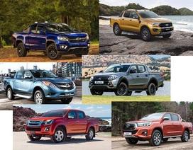 Thái Lan bán hơn 1 triệu ôtô trong năm 2019, xe bán tải dẫn đầu