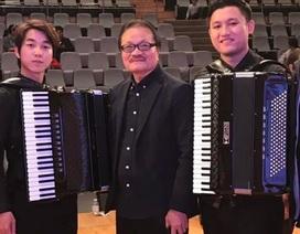 Tài năng âm nhạc Việt Nam đoạt giải Nhất tại cuộc thi Accordion quốc tế