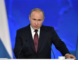 Tổng thống Putin: Nga sẽ rút ngắn thời gian đáp trả nếu bị tên lửa Mỹ đe dọa