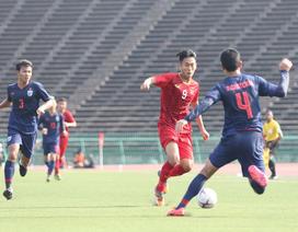 U22 Việt Nam 0-0 U22 Thái Lan: Giành ngôi đầu bảng