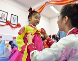 Ngôi trường tại Hà Nội có lớp học mang tên Kim Nhật Thành, Kim Chính Nhật