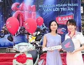 Hơn 8.600 xe máy đến tay khách hàng nhờ chương trinh bốc thăm may mắn
