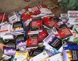 Thu giữ số lượng lớn sách lậu tại Hà Nội