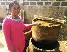Hàng ngàn hộ dân phải dùng nước nhiễm phèn, nhiễm mặn!