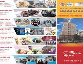 Trường Cao đẳng nghề Công nghệ cao Hà Nội thông báo tuyển sinh năm học 2019-2020