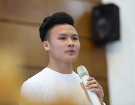 """Quang Hải được đề cử Gương mặt trẻ tiêu biểu: """"Tôi chỉ là người đại diện cho thành công của tập thể"""""""