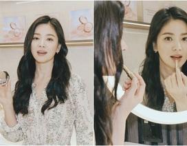 Song Hye Kyo xuất hiện dịu dàng và xinh đẹp tại Singapore