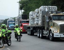 Venezuela đóng cửa biên giới với Brazil để ngăn viện trợ