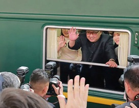 Báo Nga: Đoàn tàu chở ông Kim Jong-un đã khởi hành từ Bình Nhưỡng đi Hà Nội